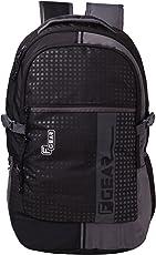F Gear Blow Laptop Backpack 32 liters (Black,Grey)