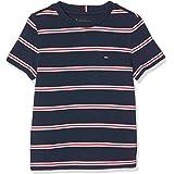 Tommy Hilfiger Stripy Crew Neck S/S Camiseta para Niños