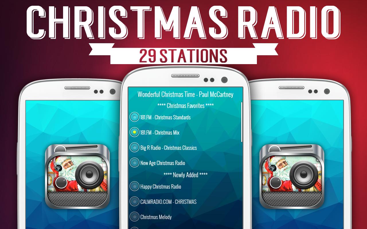 Christmas Radio Station.Christmas Radio