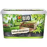 Compo Bio–Compostador rápido 3kg, Verde, 17,5x 17,5x 15.6cm, 20825