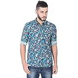 GUNIAA Digital Printed Multicolour Full Sleeve Shirts