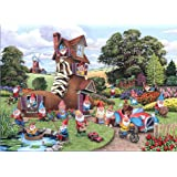 The House Of Puzzles Puzzle 500 Teile - XXL Teile - GNOME & Away