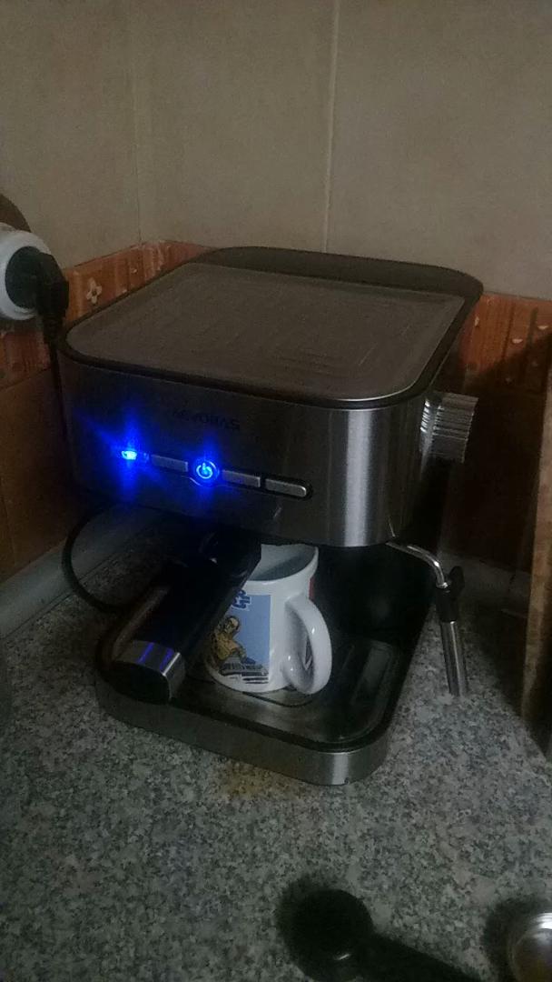 AEVOBAS Cafetera de Filtro, Cafetera de Goteo Programable para 12 Tazas, Máquina de café Filtro Permanente, Sistema anti-gotas, cierre automático, ...