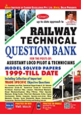 Railway Technical Question Bank for Assistant Loco Pilot and Technicians Model Solved Papers 1999 Till Date