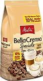 Melitta Ganze Kaffeebohnen, 100 % Arabica, mildes Aroma, leichter Charakter, milder Röstgrad, Stärke 2, BellaCrema Speciale, 1100g