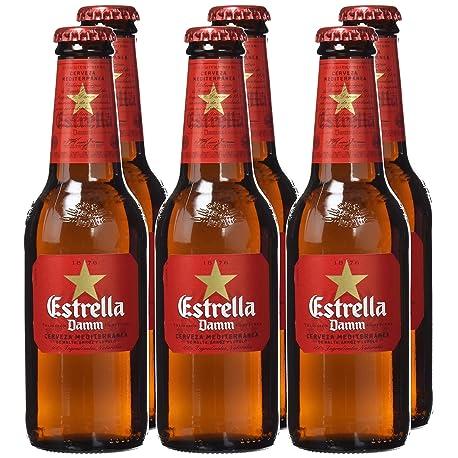 Estrella Damm Cerveza mediterr nea 25 cl paquete de 6 botellas