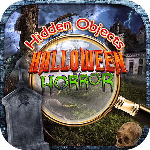 Hidden Objects Halloween Haunted Horror Mystery - Fall Pumpkin Season Object Time Puzzle Photo Pic FREE Game & Spot the Difference (Halloween Pics Horror)