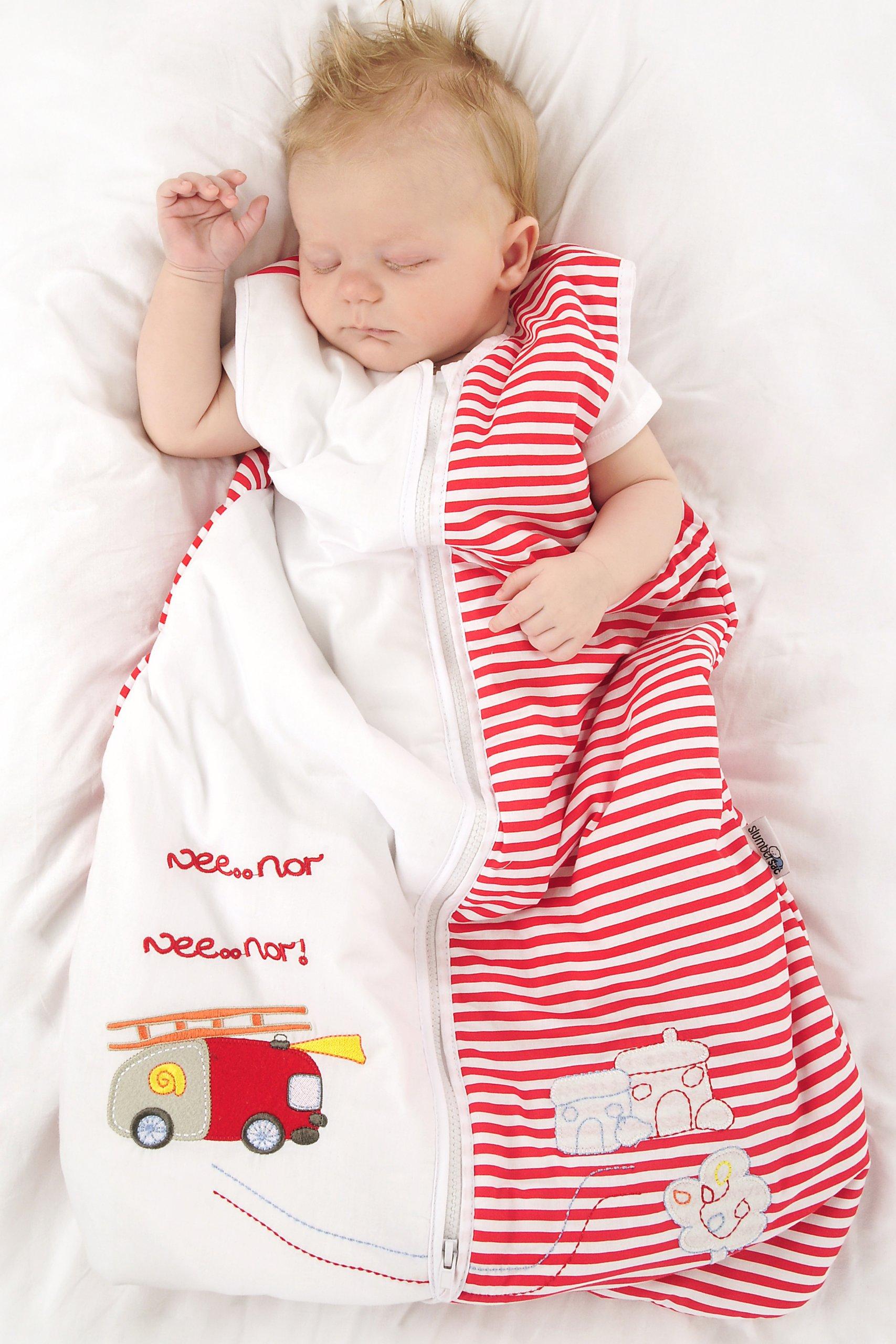 Bebé de Verano Saco de dormir 1 Tog – Varios tamaños: desde el nacimiento hasta los 10 años