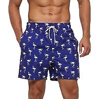 Arcweg Costume da Bagno Uomo Fodera in Mesh con Tasche Asciugatura Rapida Pantaloncini da Spiaggia Nuoto Idrorepellente…
