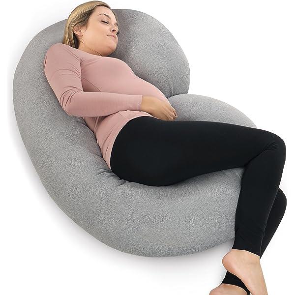 C Shaped Maternity Pillow Full Body