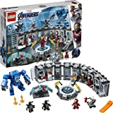 Super Heroes LEGO76125 MarvelAvengersIronManHallofArmor,ModularLabwith6MarvelUniverseMinifigures,Playset