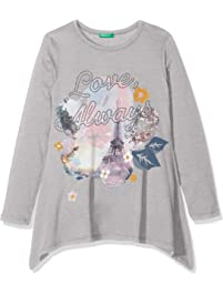 United Colors of Benetton T-Shirt L/S, Camiseta para Niñas