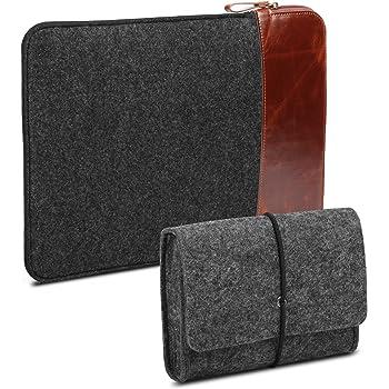 GMYLE 2-in-1-Paket Aufbewahrungstasche aus Filz   Schutzhülle aus weichem  Filzmaterial 63c8dfc6176