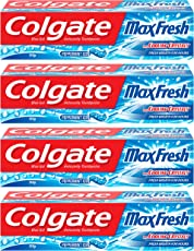 Colgate Max Fresh Toothpaste - 150 g (Buy 3 Get 1 Free, Peppermint Ice)
