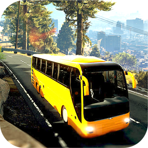 City Coach Bus Driver Simulator 2019: Next-Gen City Bus Pick & Drop Services - School Apps Bus