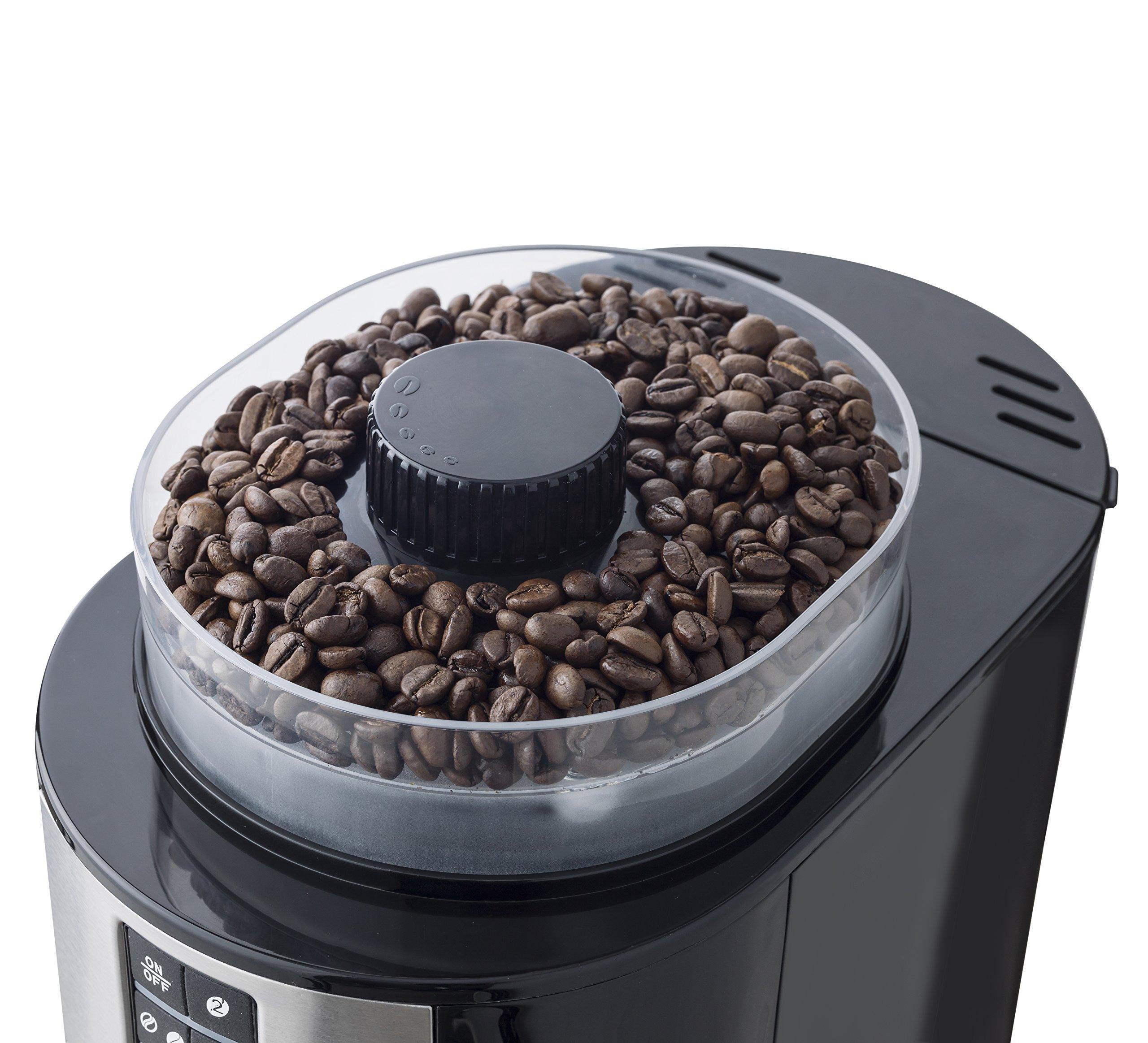 Bestron-ACM1100G-Kaffeemaschine-mit-Mahlwerk-820-Watt-max-bis-zu-6-Tassen