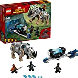 LEGO Marvel Super Heroes - Black Panther contre Killmonger : le combat dans la mine - 76099 - Jeu de Construction