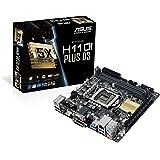 Asus H110I-Plus Mainboard Sockel 1151 (Mini-ITX, Intel H110, 2x DDR4 Speicher, 4x SATA 6Gb/s, 2x USB 3.0, 4x USB 2.0…