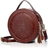 APHISON Damen Umhängetasche Schultertasche Crossbody Schulter Multifunktionale Handy Tasche PU Leder Geschenke für Frauen (2C