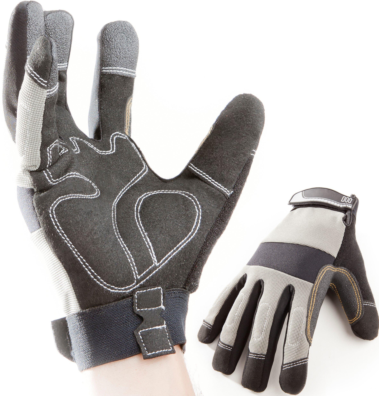 Premium Arbeitshandschuhe, Montagehandschuhe, Mechaniker- Handschuhe, Schutzhandschuhe, Sicherheitshandschuhe