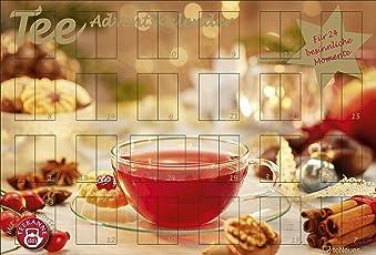 Tee-Adventskalender 2018 - Teekalender, Adventskalender, 25 Teekompositionen für eine genussvolle Adventszeit - 56 x 38 cm