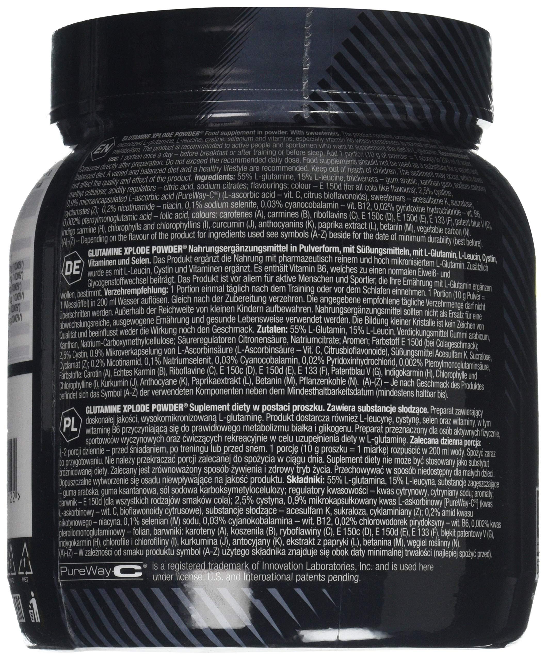 Olimp Labs Glutamine Xplode Powder, Orange Flavour, 500 g