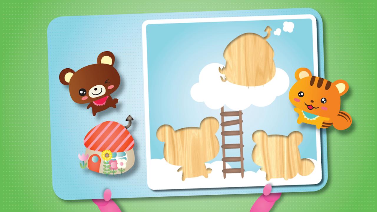 puzzle f r die kleinsten kinderspiele und kinder apps. Black Bedroom Furniture Sets. Home Design Ideas