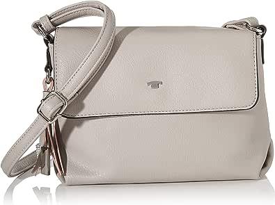 Tom Tailor Umhängetasche Damen Grau Lucca 21 5x7 5x16 Cm Handtasche Schultertasche Schuhe Handtaschen