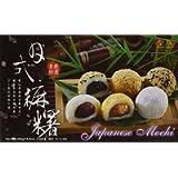 Mochi Dolce Giapponese Gusti Misti (Fagioli Rossi, Sesamo, Arachidi) - Royal Family 15 pz. (450 g.)