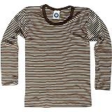 Cosilana Sudadera Camisa–para niños–manga larga de lana virgen KBT y seda de WOLL Body