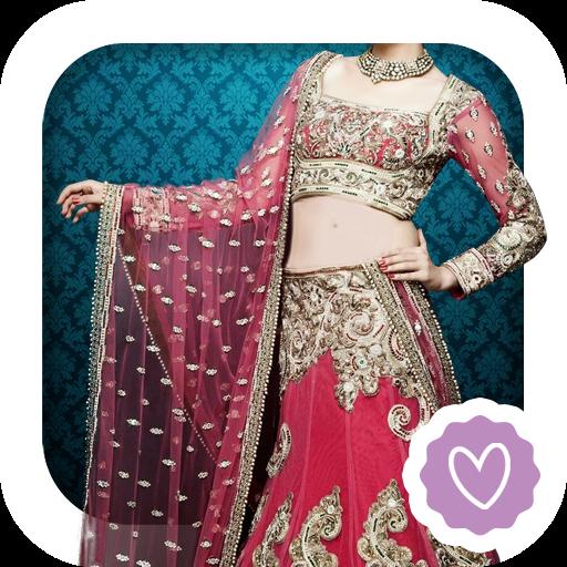 Indian Wedding Lehenga Montage (Sari Saree Com)