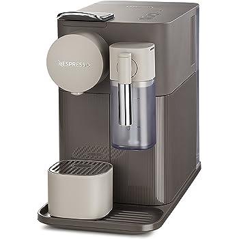 Nespresso Delonghi Lattissima One EN500BW Cafetera con Diferentes Cápsulas, Depósito 1 L,