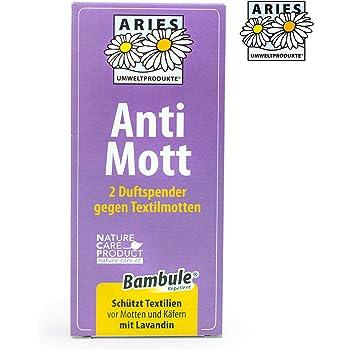 Aries - Anti Mott 2 Duftspender gegen Textilmotten - 2er Set