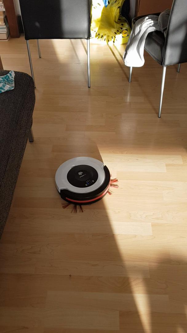 Dirt Devil M612 2.0 Robot Aspirador Spider, diseño Compacto 7 cm ...