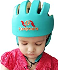 Baby Safety Helmet (Turquoise) Head Guard with Proper Ventilation - Keepcare