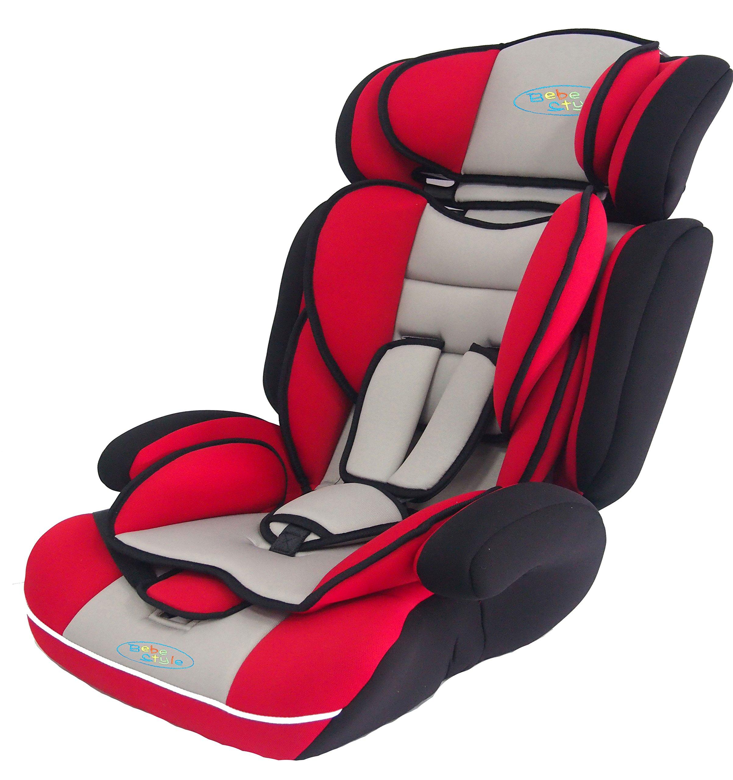 e110d2df1eeb Bebe Style convertible 1/2/3 Combination Car Seat - Red - Babaloo