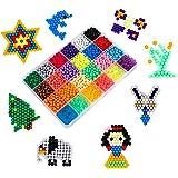 MaoXinTek Abalorios Cuentas de Agua DIY Educativos Artesanía Juguetes para Niños 24 Colors 3000pcs Craft Kit