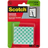 3M Commercial Office Voeding Div. MMM111 montageband Squares-Permanent-1in.x1in -. Pack 16