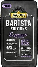 Jacobs Barista Editions Espresso, Kaffee Ganze Bohne, 1 kg