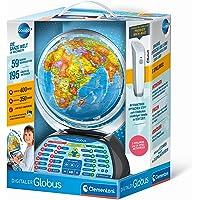 Clementoni 59184 Galileo Science – Digitaler Globus, sprechende Weltkugel mit interessanten Fakten, Infos zum Wetter…