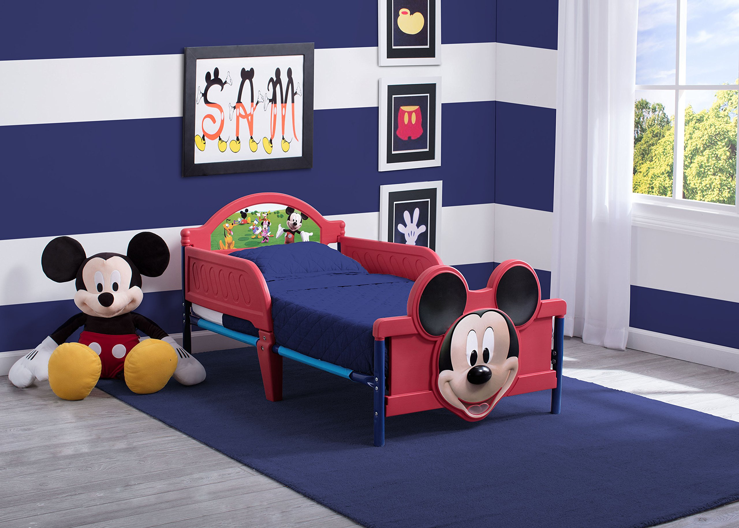 Disney lettino per bambini mickey mouse face shop