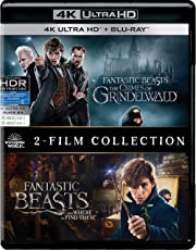 Fantastic Beasts 2 Movies Collection - Fantastic Beasts & Where to Find Them + Fantastic Beasts: The Crimes of Grindelwald (4K UHD & HD)