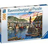 Ravensburger 15045 Sunrise at the Port 500 piece Jigsaw Puzzle for Adults & for Kids Age 10 and Up