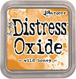 Ranger Tim Holtz Distress Oxide Pad-Wild Honey, Synthetic Material, Yellow, 7.5 x 7.5 x 1.9 cm