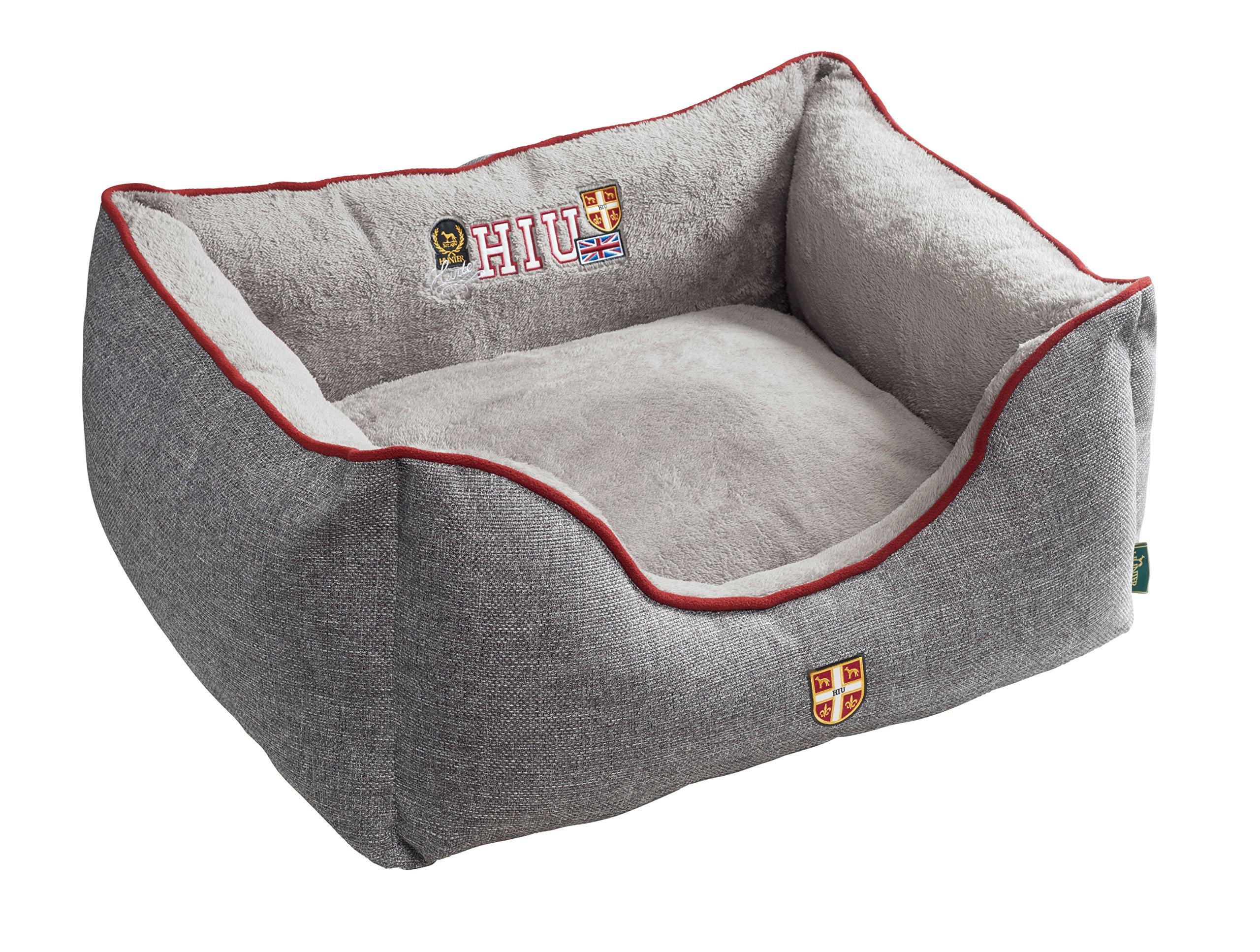 HUNTER Dog Sofa University, Small, 60 x 45 cm, Grey