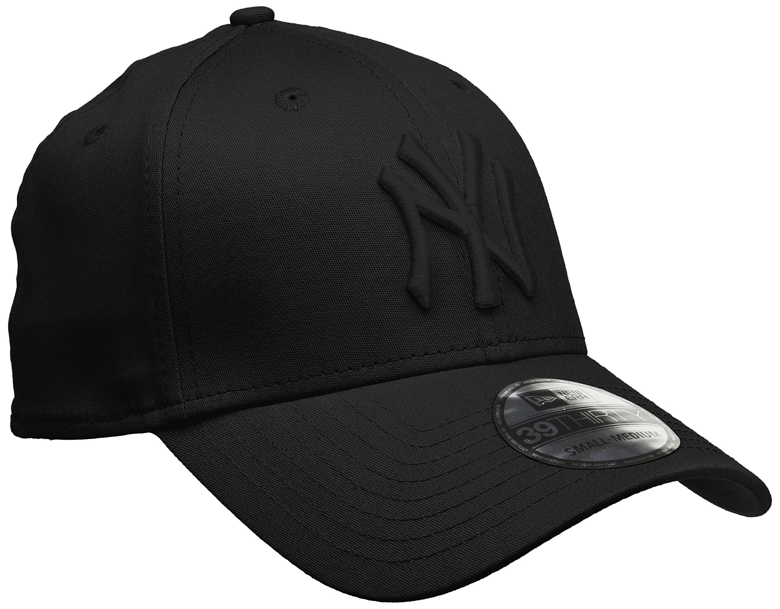 122a9b2a335 New Era Men s MLB Basic NY Yankees 39Thirty Stretch Back Baseball ...