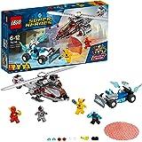 LEGO DC Super Heroes Speed Force Freeze Verfolgungsjagd 76098 Superheldenspielzeug für Kinder