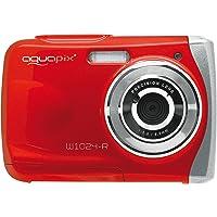 Aquapix W1024-R Splash Unterwasser Digitalkamera rot