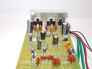 SOUMIK ELECTRICALS Dual 7297 Amplifier Board, 400W, 12 Volt DC Working Voltage (7297 DUAL IC 12 VOLT BOARD)