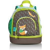 LÄSSIG Kinderrucksack mit Brustgurt Junge Mädchen Kindergartentasche Kindergartenrucksack/Mini Backpack, Little Tree
